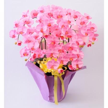 光触媒(造花) 7本立胡蝶蘭 ピンク
